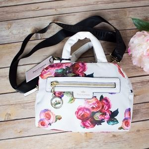 Juicy Couture Crown Jewel satchel with flowers